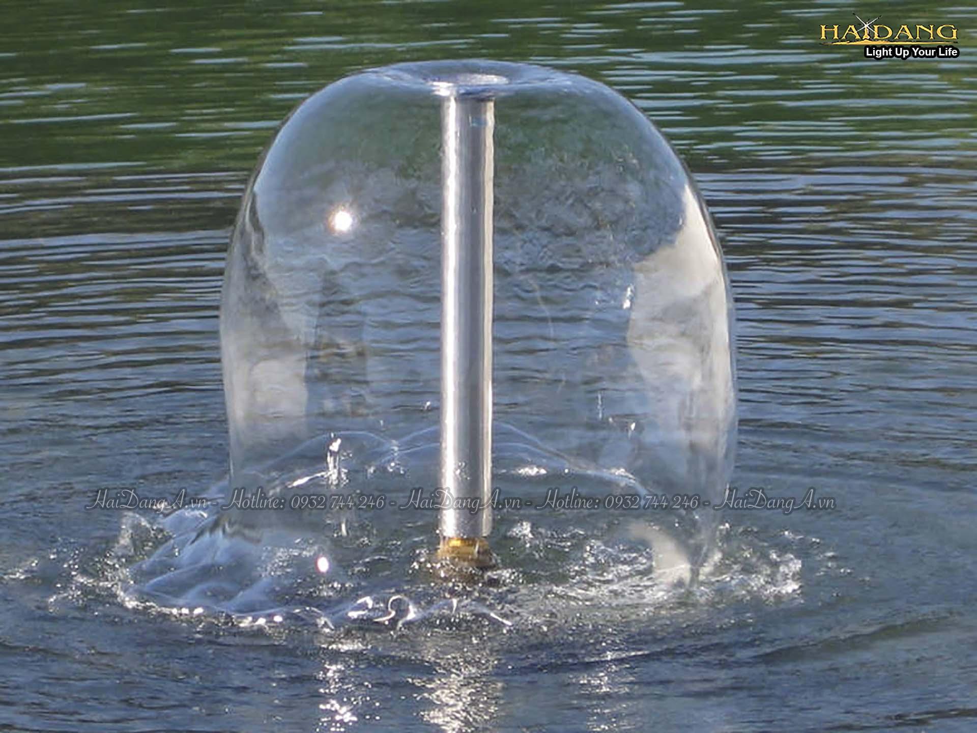 Đầu vòi phun hình nấm (chuông) Lava 45 - 10 E copy
