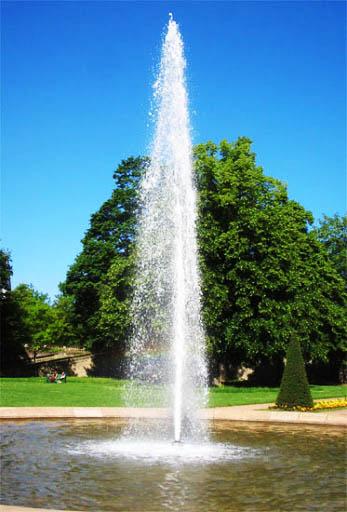 Đầu phun Geyser tạo cột nước cao ổn định