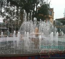 Đài phun nước công viên Lý Tự Trọng – Hà Tĩnh