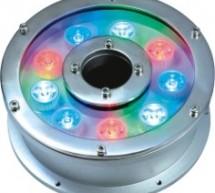 Đèn LED âm dưới nước loại 9 LED