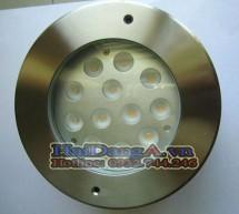 Đèn LED pha âm ngầm dưới nước cho đài phun nước, hồ bơi HD-UW12W