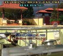 Thi công lắp đặt nhạc nước, đài phun nước nghệ thuật chuyên nghiệp