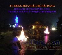 Công trình đài phun nước, nhạc nước nghệ thuật chùa Ba Vàng