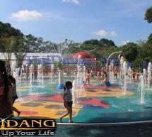 Sân phun nước công viên Gia Định