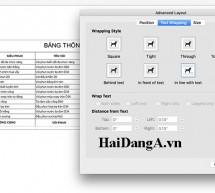 Chỉnh sửa, di chuyển hình ảnh trong Word hệ điều hành iOS của Macbook