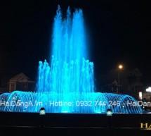 Nhạc nước công viên tại thị xã Ba Đồn tỉnh Quảng Bình