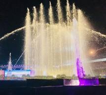 Đài phun nhạc nước quảng trường công viên Khánh Hội, Quận 4, TPHCM
