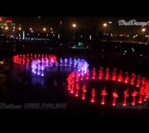 Video nhạc nước âm sàn 5 vòng tròn