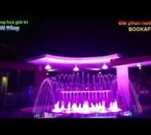 Đài phun nước bookafe
