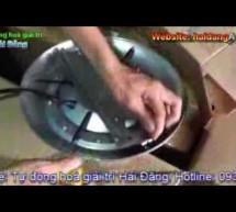 Video clip giới thiệu về đèn LED âm nước hồ bơi