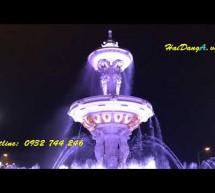 Nhạc nước quảng trường khu đô thị Ninh Hiệp Gia Lâm Hà Nội