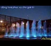 Video sân phun nước nghệ thuật
