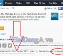 Hướng dẫn chèn nhạc MP3, audio vào website WordPress