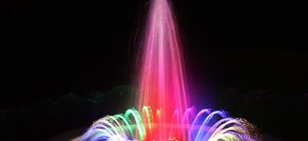 Đài phun nước mini sân vườn biệt thự nhà anh Khoa